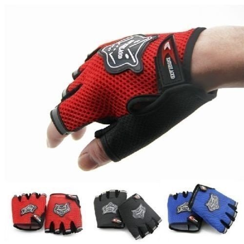 Sports-Fitness-Half-Finger-Retaining-Training-Weightlifting-Slip-Boating-Gloves-Outdoor-Sports-WomenMens-FingerlessHalf-finger-Cycling-Bike-Bicycle-Shockproof-Breathable-Mesh-Anti-skid-Gloves-Mitts-We