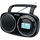 Blaupunkt BSD 9000 Radio Digitale PLL de Table FM(RDS) MW/LW/SW Noir