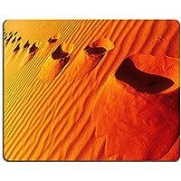 MSD in gomma naturale gaming mouse immagine ID: 35114072impronte sulla sabbia Dune deserto del Sahara Algeria