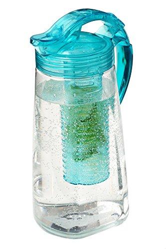 kunststoff-karaffe-mit-frucht-einsatz-bpa-frei-turkis-2-liter-wasserkaraffe-teekanne-aus-tritan