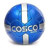 #7: Cosco Mexico Football, Size 5  (White/Blue)