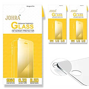 Johra 2.5D 9H HD+ Premium Tempered Glass For Google Pixel XL Tempered Glass - Pack of 3