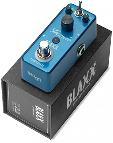 BLAXX Tremolo Pedal for Guitar with 2 Different Modes