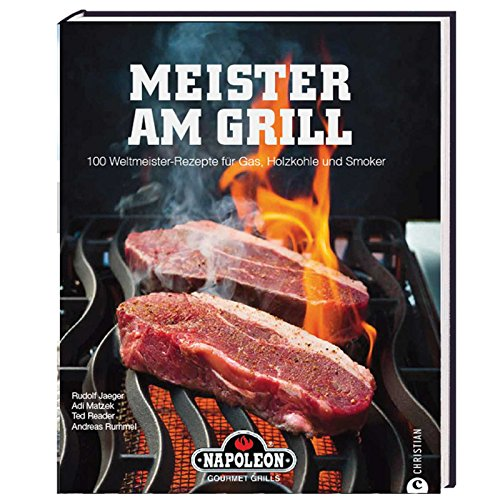 "51ZjMeMAaPL - Napoleon Grillbuch ""Meister am Grill"""