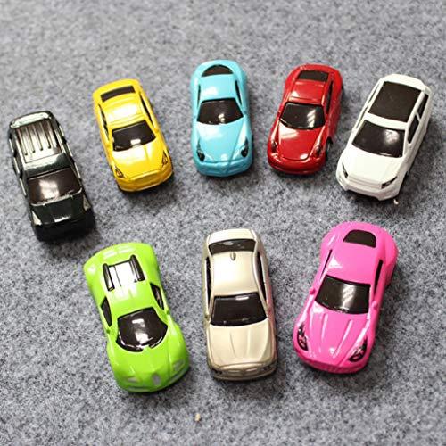 Kashyk, voiture jouet, matériaux écologiques non toxiques, cadeaux pour enfants, Métal Lot Voiture Miniature Mini Jouet Coffret 8 Pieces Enfant Cadeau (Multicolore)