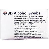 BD Regular Alcohol Swabs, 100 ct preisvergleich bei billige-tabletten.eu