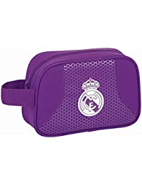 Safta Real Madrid 2ª Equipación Neceser, 22 x 14 x 8 cm, Color Morado