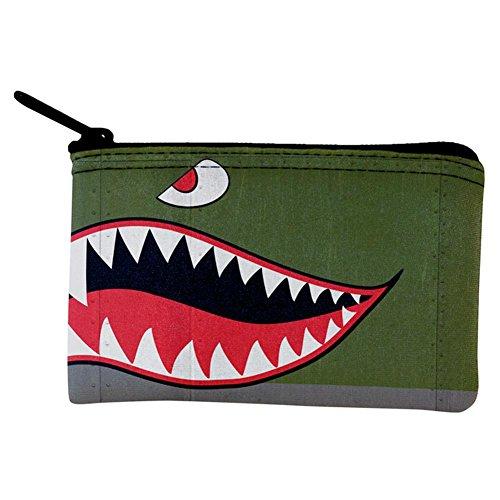 (Halloween WWII fliegende Tiger Fighter Shark Nase Kunst Münze Geldbörse Multi Standard One Size)