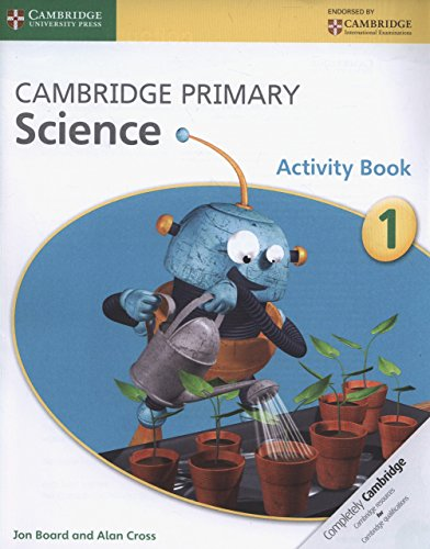 Preisvergleich Produktbild Cambridge Primary Science Stage 1 Activity Book
