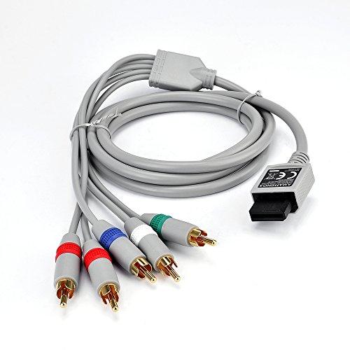 HDTV YUV Component Kabel Passend Für Wii Und Wii U- Komponenten Kabel Von Amathings Test