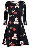Be Jealous Damen Weihnachtsgeschenk Candy Kittel Weihnachten Ausgestellt Franki Santa Damen Lebkuchen Rentier Rudolph Mini Swing Kleid