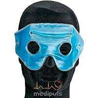 Migränebrille mit Klettband im Etui - Migränemaske mit kälte/ -wärmespeicherndem Gel zur Linderung bei Kopfschmerzen... preisvergleich bei billige-tabletten.eu