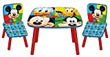 Arditex Mickey Mouse Table and Chairs. Wooden Toy. ARDWD8328