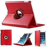 Custodia per Apple iPad di 2ª/3ª/4ª generazione (non compatibile con i modelli iPad Mini, iPad Air, iPad Air 2, iPad Pro) RED Apple ipad 2/3/4 case