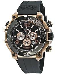 Nautec No Limit Herren-Armbanduhr XL Ultimate Ocean Chronograph Quarz Kautschuk UO QZ/RBRGIPBK-RG