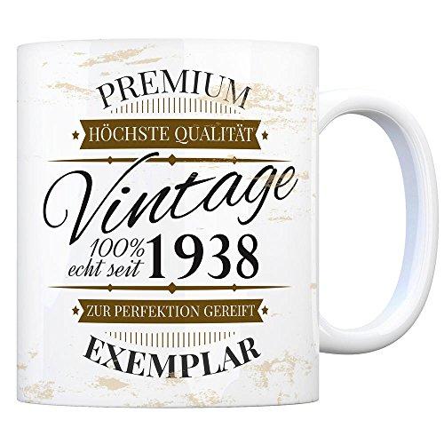 trendaffe - Vintage Tasse seit 1938 - Premium Exemplar - Zur Perfektion gereift -