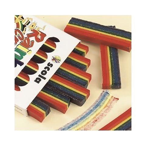 Crayon Arc-En-Ciel (5 Couleur Par Stick) Paquet de 6