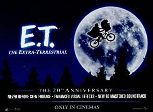 E.T. (The Extra Terrestrial) Movie Poster