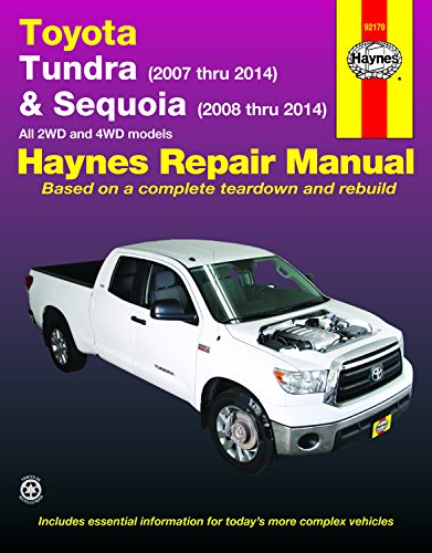 Toyota Tundra & Sequoia (Hayne's Automotive Repair Manual)