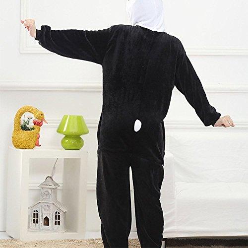 Imagen de abyed kigurumi pijamas unisexo adulto traje disfraz adulto animal pyjamas,panda adulto talla xl para altura 175 183cm alternativa