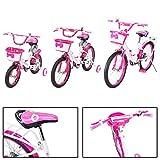 Actionbikes Kinderfahrrad Daisy ab 3-9 Jahren 12 16 20 Zoll Grün Kinder Mädchen Jungen Fahrrad … (16` Zoll)