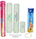 #5: PSI IONIX RO SERVICE KIT/RO FILTER SET COMPATIBLE WITH ENHANCE/REVIVA NEW MODEL & OTHER RO WATER PURIFEIR WITH SEALED HOUSING