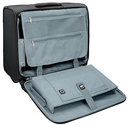 Bugatti Lima Business Trolley / Overnighter 43 cm mit Gepäckfach und Laptopfach - 6