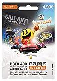 GameStore Game Card | 1 Monat – 5 Geräte | über 400 Top Android Games | ein Monat Game Store Gaming | keine automatische Verlängerung | 100% Kostenkontrolle