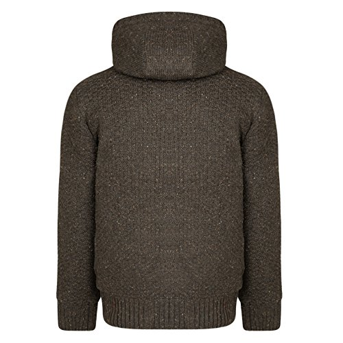 Tokyo Laundry - Pull - Pull - Uni - Manches Longues - Homme gris gris Small Oak Nep