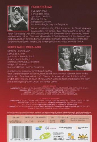 Ingmar Bergman - Frauenträume / Schiff nach Indialand (tlw. OmU): Alle Infos bei Amazon