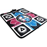GEZICHTA Electronic Musical Dancing Mat, PC Non-Slip USB Play Mat Pads,for TV Game