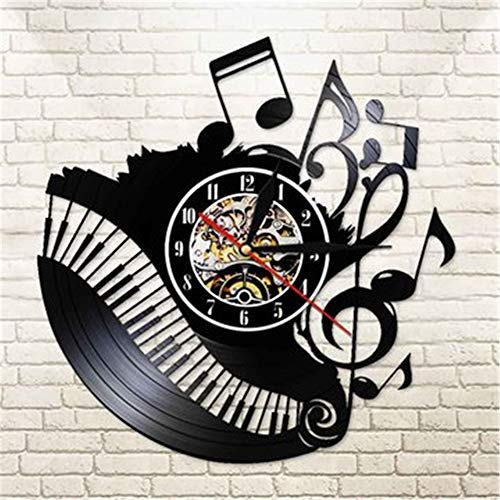 Hcbdqq orologio da parete moderno da 12 pollici batteria al quarzo silenziosa orologio da cucina di facile lettura per casa/ufficio/scuola (2 pezzi) 30 cm (senza led)