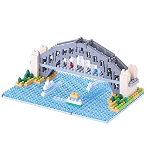 Nanoblock NAN-NBH101 Sydney Harbour Bridge, Multicolor