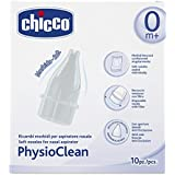 Chicco Recharges Soft pour Aspirateur Nasal Soft and Easy Physioclean x10 0 mois +