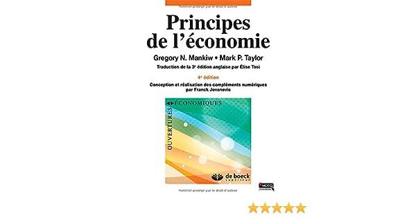 GRATUIT PRINCIPES LÉCONOMIE TÉLÉCHARGER DE MANKIW