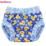 Blueberry Freestyle 2.0 Schwimmwindel - Rubber Duckies Größe S (3,5-7 kg)