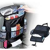 AVMART Car Seat Back Organizer,Multi-Pocket Travel Storage Bag (Heat-Preservation)