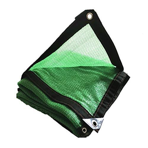 Vert Shading Net 6-pin Cryptage Ombre Balcon Tissu 85% Ombre Sunblock UV Résistant Net Pour Patio Extérieur (taille : 1 * 2m)
