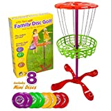 Little Flyers Family Disc Golf with 8 Mini Discs by K-Roo Sports by K-Roo Sports