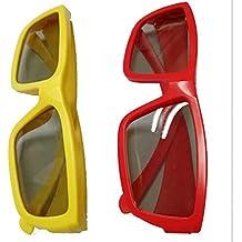 Gafas 3D para adultos y niños para cine reald, TV 3D pasiva