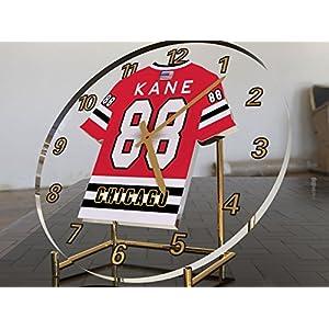 MyShirt123 NHL National Hockey League–Western Konferenz–Central Division Trikot-Uhren–Jeder Name, beliebige, jedes Team, kostenlose Personalisierung.