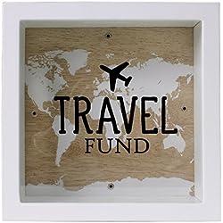 Travel Fund Hucha con marco para viajar