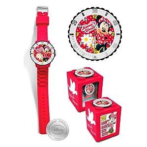 Kids PMS Minnie Mouse 4 en 1 Reloj Cubo Disney