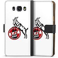 Samsung Galaxy J7 (2016) Tasche Hülle Flip Case 1. FC Köln Fanartikel Fussball
