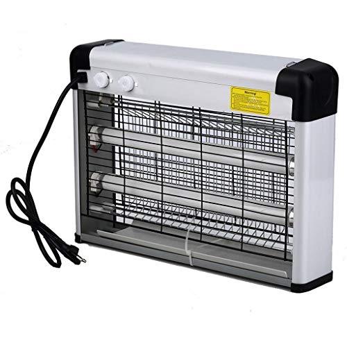 Andouy Insektenvernichter, Tragbare Elektrischer LED-Licht UV Mosquito Killer Mückenfalle Mückenschutzlampe(40×10×28cm.Weiß-US-Vorschriften)