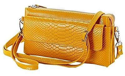 valentoria® en cuir souple Crocodile Pochette Organiseur Sac à Main épaule Bandoulière wrislet Sac Sac Sac à main Sac à main pour femme avec sangle d'épaule