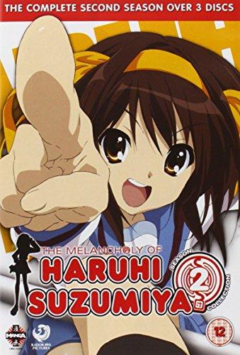 Melancholy Of Haruhi Suzumiya The Complete Series 2 [Edizione: Regno Unito] [Import italien]