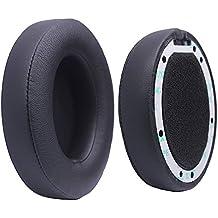 Bingle Almohadillas de recambio Cojines para Beats Studio 2.0 Wired / Studio 2.0 Wireless B0500 / B0501 (Negro)