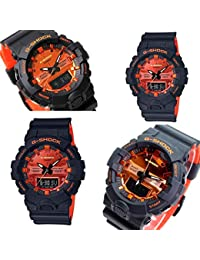 Casio Analog-Digital Orange Dial Men's Watch-GA-800BR-1ADR (G919)