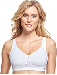 Susa Medium Support White Non Wired Bra 7316